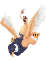 Griffin in flight png by RAYN3R-4rt