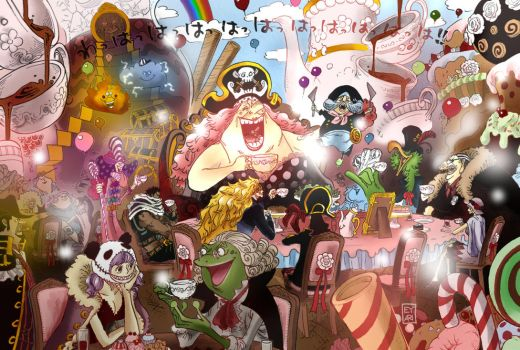 One Piece 861 - Tea Party colored by Eyaririri