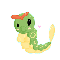 Caterpie - 010 by Kiytt