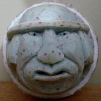 Golf Ball carving... With a Hat by Des804