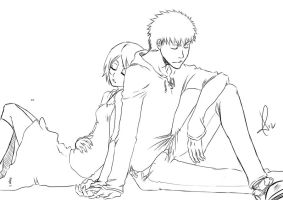 Sleeping time - Ichiruki by teora