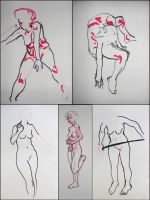 Last nights life drawings by object000