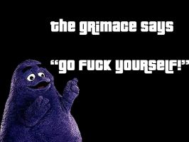 The Grimace Ain't No Punk by Figura