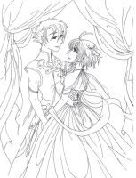 SakuraxSyaoran - Wedding... by ooODark-ButterflyOoo