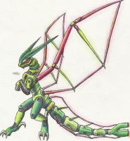 Flygon ZOID by Rijolt