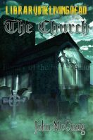 The Church Book Cover by 3D-Fantasy-Art