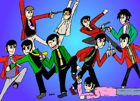 Lupin the Herd by DrFurball