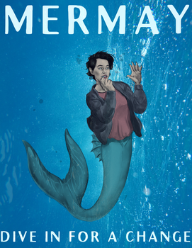 Happy Mermay! by nothere3
