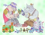 Bebop and Rocksteady are playmates by spaceboystudios