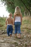 Girl and boy 3 by Paigesmum-stock
