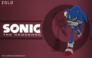 SONIC:2010 Wallpaper by ProfessorZolo