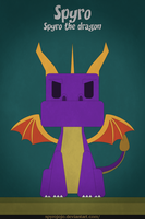Spyro - Spyro the dragon by spyrojojo
