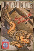 Propaganda Pinups - Invest in the Airborne by warbirdphotographer