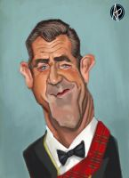 Mel Gibson by keizler