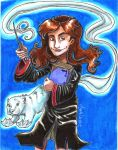 The brightest witch of her age by Agatha-Macpie