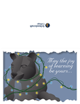 Homework: Holiday Card by prite
