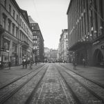 Tram Lines by Pajunen