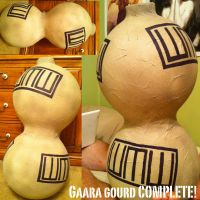 Gaara Gourd Finished by crummywater