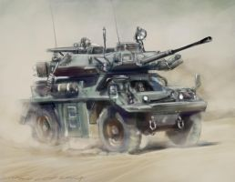 Scout speed painting PS by nosoart