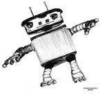 :: GROOVY ROBOT:: by P4R4D0X3