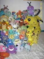 Pokemon Plush Collection Close-up B by kratosisy
