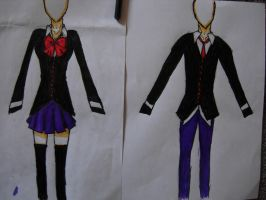 School uniform for my manga by Ginchi-chan