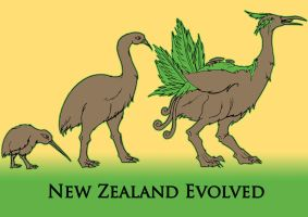 New Zealand Evolved by MatthewJWills