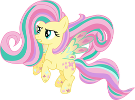 Rainbow Power: Fluttershy by TheShadowStone