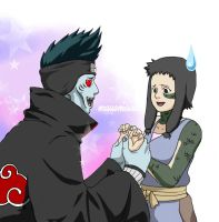 Kisame in Love by mausmouse