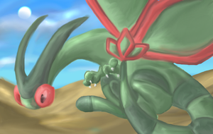 Flygon by CrazedPochamaXD