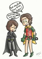 Batman and Robin? by Inamkur
