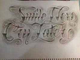 smile now by smurfpunk