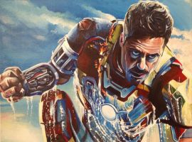 Iron Man Rises by mikebaldwin