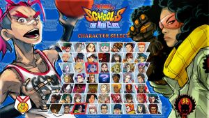 rival schools jam - character select by shoze