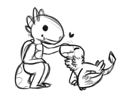 Pixelmon Doodle by TheseWeirdFishes