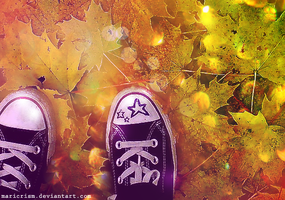 Converse Autumn by Maricrism