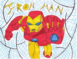 Iron Man EMH style by Endeavor4ever