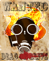 PYRO: WANTED DEAD by Titan-gurl