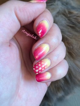 Gradient dots by Angelik23