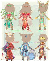 :Comm: outfits for Wintryabyss, set02 by MMtheMayo
