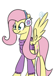 Fluttershy by ChibaDeer