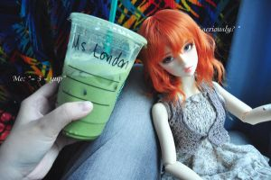 Starbucks with London by lipslock