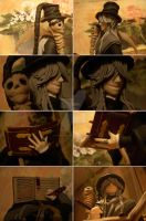Undertaker figure collage 1 by violetvelour