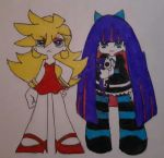 Panty And Stocking by xRainSuicidex