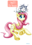 fluttershy and her exotic critter encounter 2 by roshichen