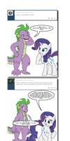 Ask Twixie Tumblr #514 by Dekomaru