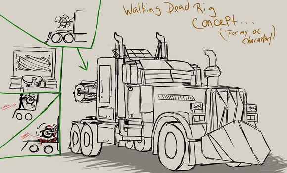 Walking Dead RIG Concept by Lady-ElitaOne-Arts