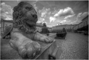 Presidential Palace, Warsaw 2009 by kubica