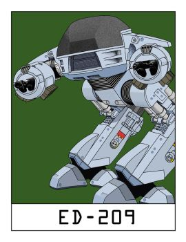 AlphaBots Week V: E is for ED-209 by SamWolk