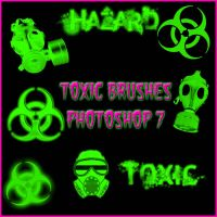 Toxic Brushes Photoshop 7 by Forbidden-Stock
